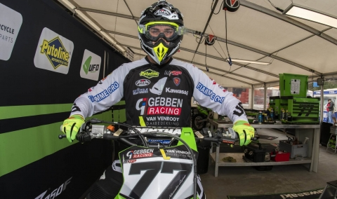 Nieuwsbericht: Alessandro Lupino verlengt voor twee jaar bij het Gebben van Venrooy Kawasaki team