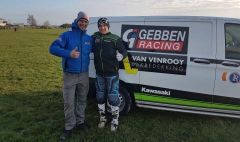 Nieuwsbericht: Gebben van Venrooy Kawasaki en SÖLVA Suspension zetten samenwerking voort in 2019